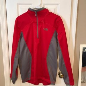 The north face quarter zip jacket